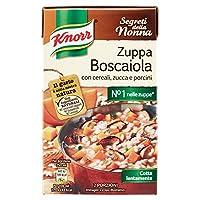 knorr zuppa boscaiola con cereali, zucca e porcini - 500 ml