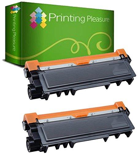 2pz x TN2320 Toner Compatibile Nero per Brother HL-L2300D HL-L2340DW HL-L2360DN HL-L2365DW DCP-L2500D DCP-L2520DW DCP-L2540DN DCP-L2560DW MFC-L2700DW MFC-L2720DW MFC-L2740DW
