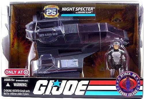 GI Joe 25th Anniversary Night Specter with Gründ Slam - Attack on Cobra Island by G. I. Joe
