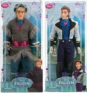Disney Frozen Disney Store Frozen Classic Doll Hans & Kristoff Action Figure Set Anna & elsa Friends