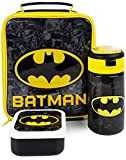 DC Comics Batman Bolso almuerzo (Bolsa de alimentos botella de agua 3 merienda) Un tamaño