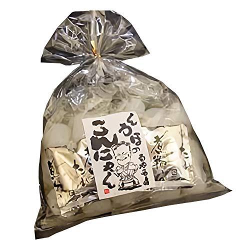 白玉こんにゃく 500g(250g×2P入) タレつき×3袋 北毛久呂保 蒟蒻芋をふんだんに使用した歯ごたえ抜群の玉こんにゃく