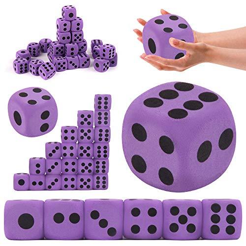 Oulensy Matemáticas Juguetes SpecialtyEVA Espuma Que juegan los Dados Block Party Juego del Juguete Divertido de los Juguetes PrizeParty Interesante para los niños