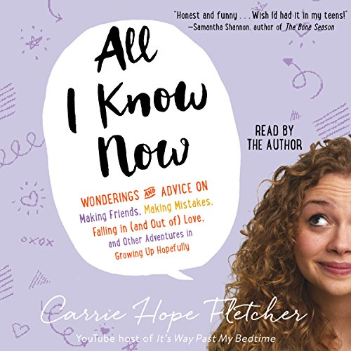 All I Know Now audiobook cover art