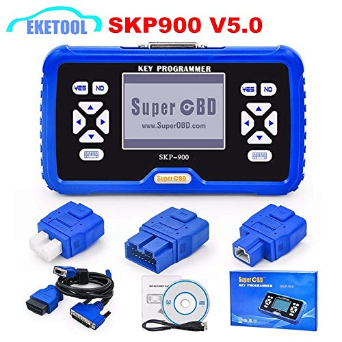 Why Should You Buy SuperOBD SKP-900 Hand-held OBD2 Key Programmerd V5.0 SKP900 Auto Key Programmer O...
