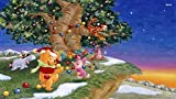 1000 Piece Jigsaw Puzzles, Jigsaw Puzzles - Full Colour Winnie The Pooh Packing Up The Christmas Tree - Children Paper Jigsaws Educational Toys Adults Teenagers Jigsaw Puzzle