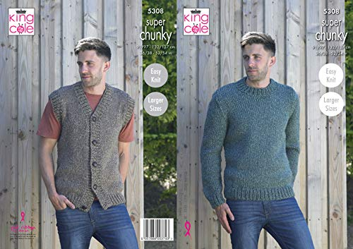 King Cole 5308 Knitting Pattern ...