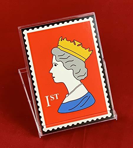 Pop Art Gallery Royal Stamp Queen - Juego de pósteres mini