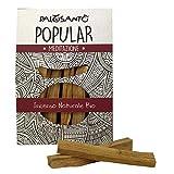 Incienso Natural Palo Santo - Madera Sagrada - Palitos Variedad Popular Ayabaca - gr. 80 - Aroma...