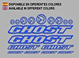 Ecoshirt CP-5IKZ-S1A5 Aufkleber Ghost F188 Vinyl Adesivi Decal Aufkleber-Set ungemoppy MTB Stickers...