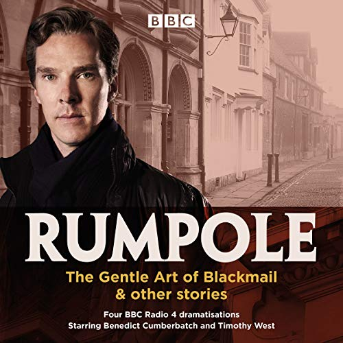 『Rumpole: The Gentle Art of Blackmail & Other Stories』のカバーアート