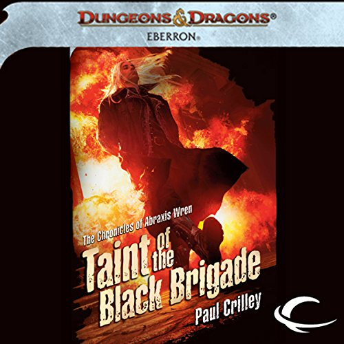 Taint of the Black Brigade audiobook cover art