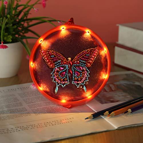 Fineday Creative Diamond Painting Night Light Cute Animal Children Gift, Diamond Painting for Christmas (G)