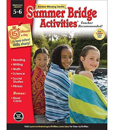 Summer Bridge Activities | Bridging Grades 5-6 | Summer Learning Workbook | 160pgs