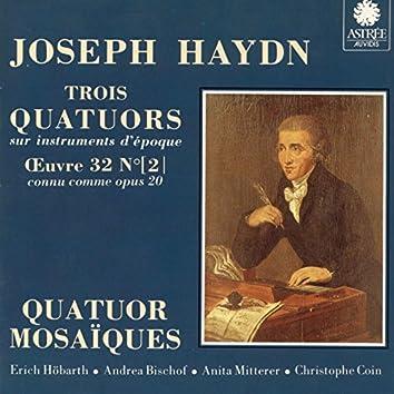 Haydn: Trois quatuors sur instruments d'époque, Op. 20, Vol. 2