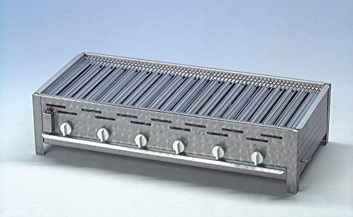 Gastrobräter KF-K6 mit Grillrost und Grillpfanne - 6-flammig