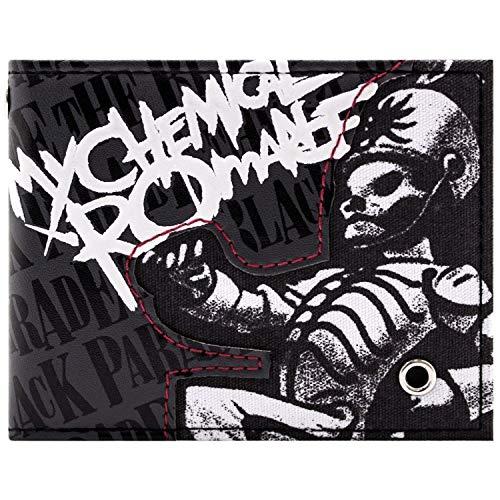 My Chemical Romance Black Parade Roccia Grigio portafoglio