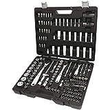 Beta 903E/C170 - Set di 74 chiavi a bussola esagonali, 42 inserti per avvitatori, 30 chiavi a bussola a giravite, 7 chiavi maschio esagonale piegate e 17 accessori, in cassetta di plastica