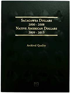 1 P, D 2000 to 2019 40 Coin P and D Sacagawea Dollar Set in Whitman Folder Uncirculated