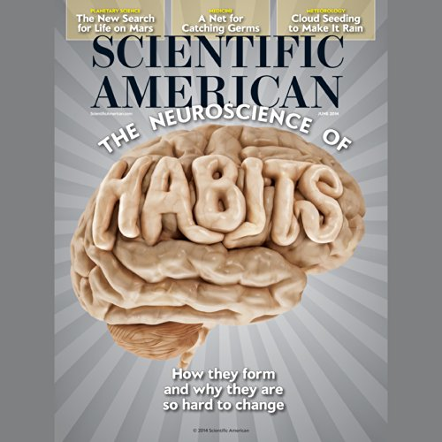 Scientific American, June 2014 audiobook cover art