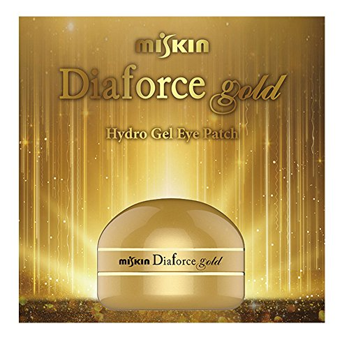[made in korea] MISKIN Diaforce 60 sheets Gold & Diamond Hydro-Gel Eye Patch eye mask by miskin