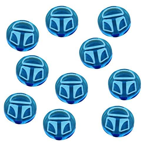 LITKO SW: Destiny, Shield Tokens, Fluorescent Blue (10)