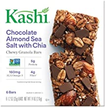 Kashi Chocolate Almond Sea Salt Chewy Granola Bars (Pack of 2)