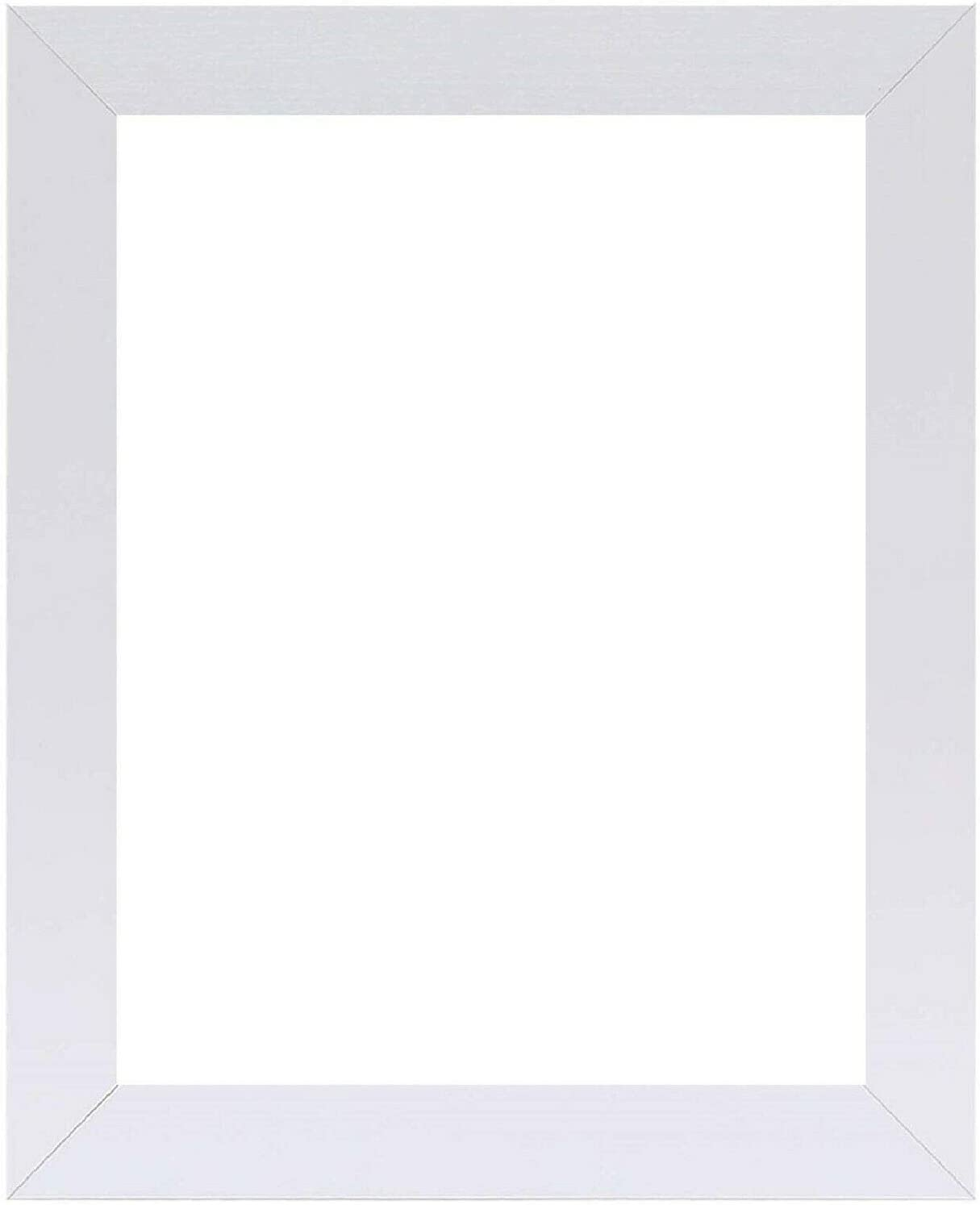 US Art Frame 4x6 Dealing full price reduction Chalk White Inch price Flat Composite Wood MDF 1.25