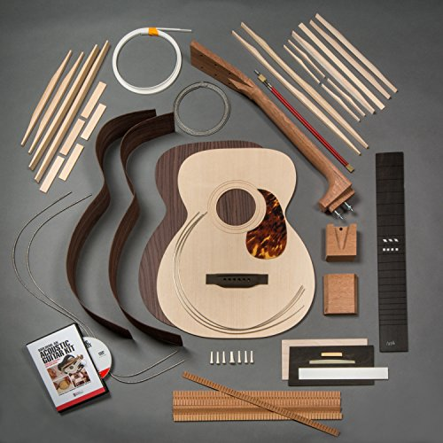 StewMac Build Your Own 1933 OM Acoustic Guitar Kit with Indian Rosewood Back & Sides, Sitka Top, Bolt-on Neck