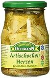 Feinkost Dittmann Artischockenherzen, geviertelt mariniert Glas, 3er Pack (3 x 330 g)