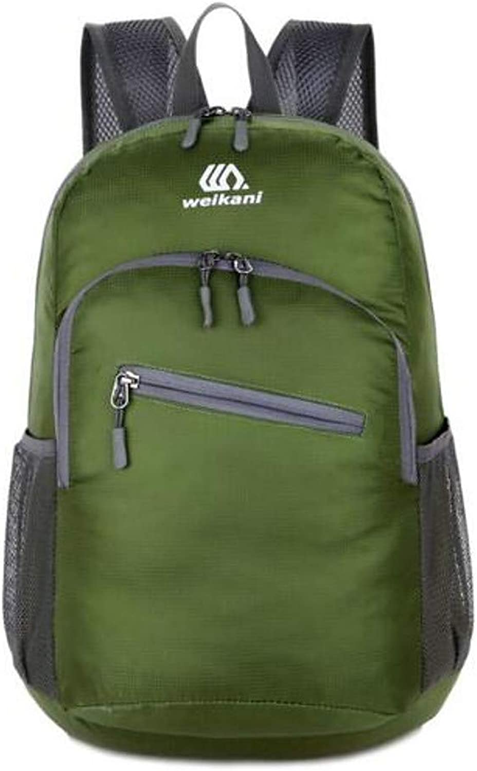Show Time backpack:Women's Bags Nylon Backpack Zipper Solid color Fuchsia Navy blueee Army Green