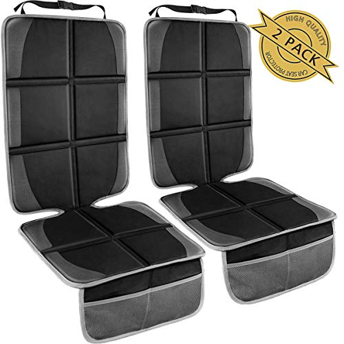 Car Seat Protector,(2 Pack) Large Auto Car Seat Protectors for Child Baby Safety Seat,Thick Padding...