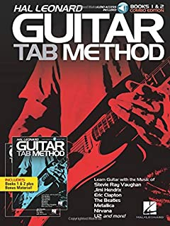 Hal Leonard Guitar Tab Method - Books 1 & 2 Combo Edition Bk/Online Audio