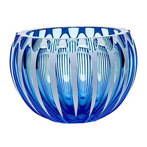 MOSER CRYSTAL CENTURY BOWLS Bowl 9.8'd cut aquamarine