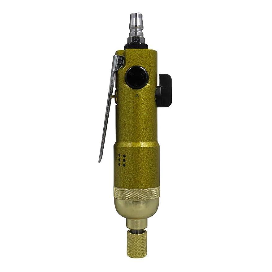 ランチョンジェスチャーアラブROEAM 1/4インチ エアダイグラインダー 空気圧ストレートダイグラインダーツール エアストレート研削機 エアスクリュードライバーKP-805