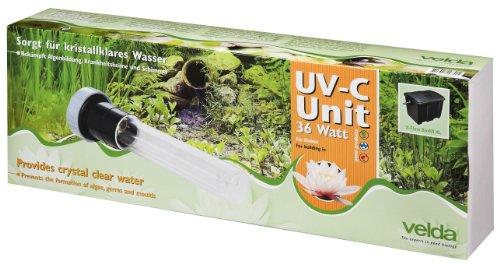 Velda 126576 Ersatz-UV-C Einheit für Elektronische Entferner gegen Grünalgen im Teich, UV-C Unit 36 Watt