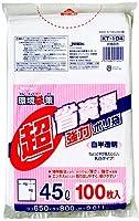 ジャパックス 業務用ポリ袋 45L KT104 0.011mm 100枚×15冊
