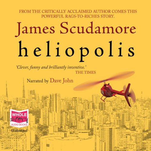 Heliopolis audiobook cover art