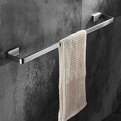 WEM Hogar, Estante de baño de hotel, Toallero de acero inoxidable 304 Toallero de barra única Toallero largo Estante de baño colgante Estante de toalla sólido,80cm,80cm