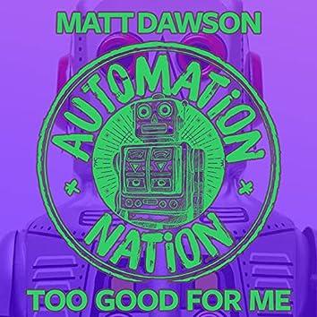 Too Good for Me (Radio Edit)