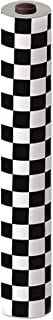"""Beistle Checkered Table Roll (black & white) Party Accessory (1 count) (1/Pkg), """"40""""""""x100'"""" (50939-BKW)"""