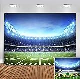 Soccer Stadium Themed Football Backdrop Photography Baby Shower Supplies Vinyl 7x5ft Sport Field