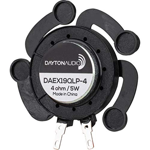 Dayton Audio DAEX19QLP-4 Quad Feet Bajo Perfil 19 mm Excitador 5W 4 Ohm
