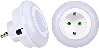 Emotionlite LED Enchufe de Luz Nocturna con Sensor de Crepú