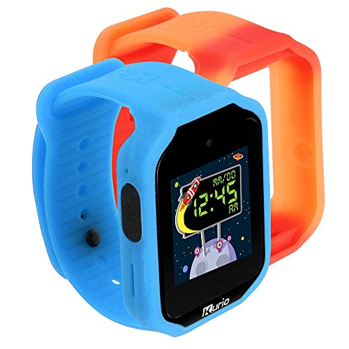 Kurio C17151GB V 2.0 Kids Smart Watch-Blue/Red, Blau
