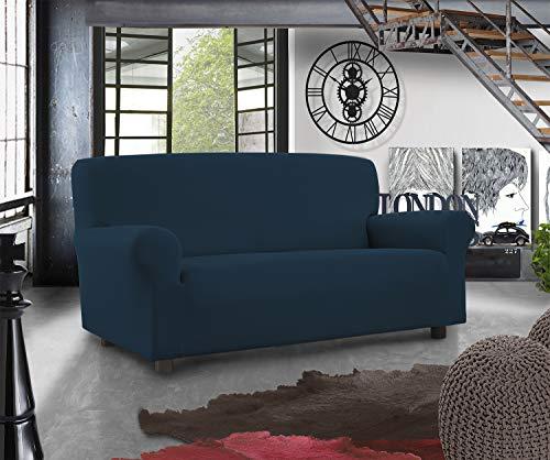 Banzaii Funda Sofá Elástica – 4 Plazas Azul – Subito Fatto Made in Italy