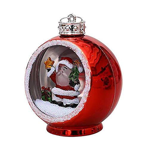 Shimigy Lantern Ball , Colorful Bright Lights Christmas Ball Christmas Tree / Home Ornaments , Living Room, Fireplace, Cabinet, Wall, Window Decrorations (A)