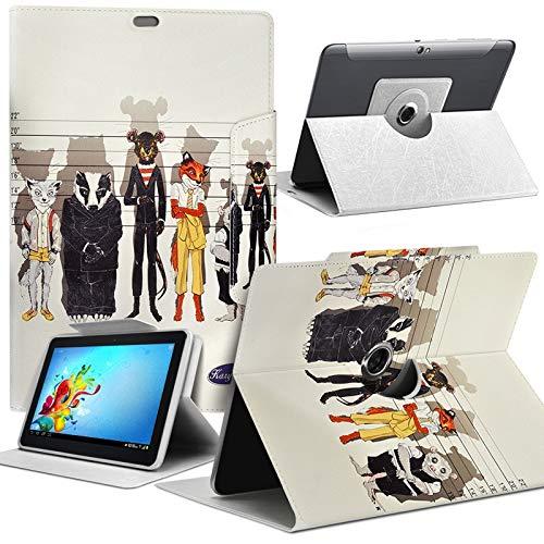 Karylax Schutzhülle Motiv MV04 Universal S für Tablet HP Pro Tablet 608 G1 8 Zoll