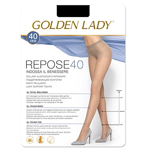 Golden Lady - Panty Descanso Repose 40 Mujer Color: Nero Talla: Medium