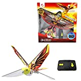 eBird Orange Phoenix - Flying RC Bird Drone Toy for Kids. Indoor / Outdoor Remote Control Bionic Flapping Wings Bird Helicopter. USB Recharging.